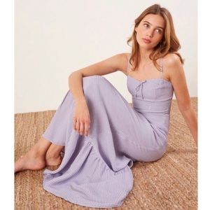 Reformation Jane gingham dress